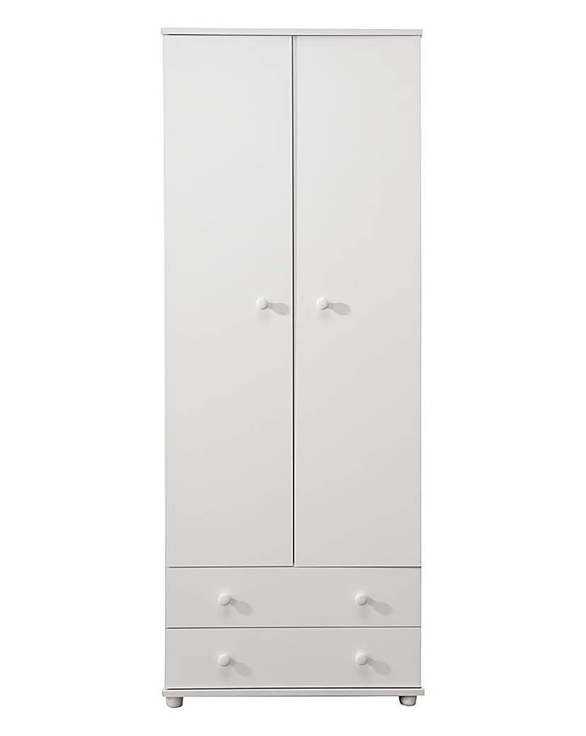 Image of Aspen 2 Door 2 Drawer Wardrobe