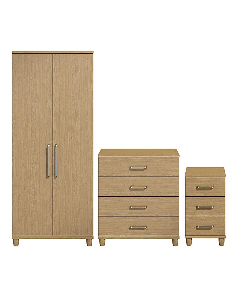 Image of Copenhagen 3 Piece Bedroom Package