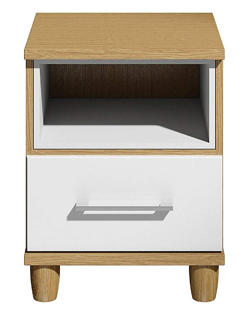 Valencia Bedside Table with LED Light