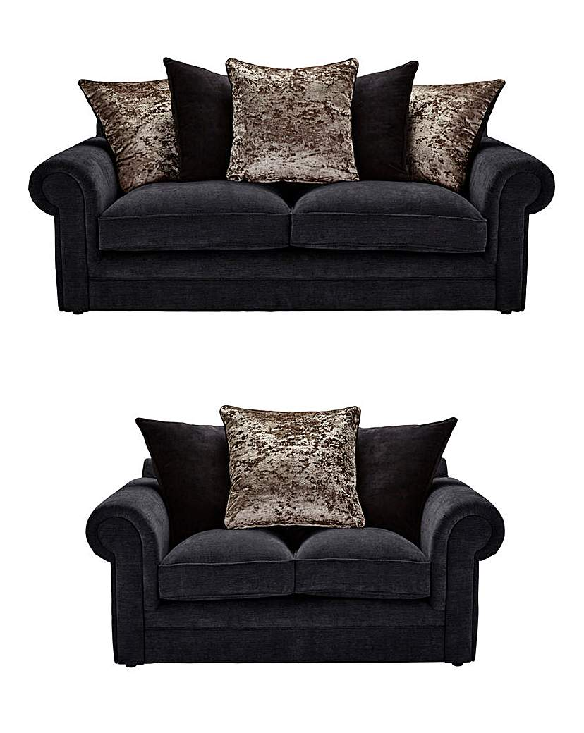 Shimmer 3 Plus 2 Seater Sofa