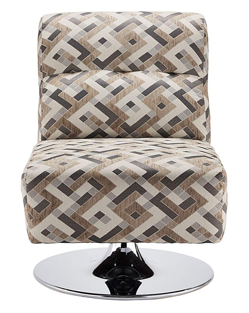 Image of Rubix Swivel Accent Chair