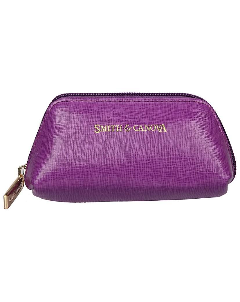 Smith & Canova Zip Top Coin Purse