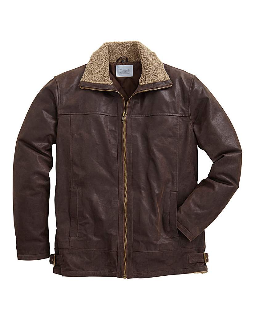 Brown leather jacket by offset - Find it at Shopwiki