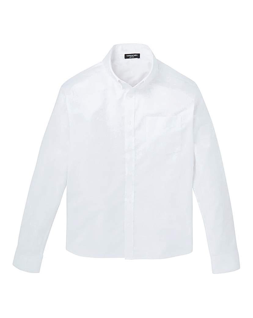 Capsule White L/S Oxford Shirt L