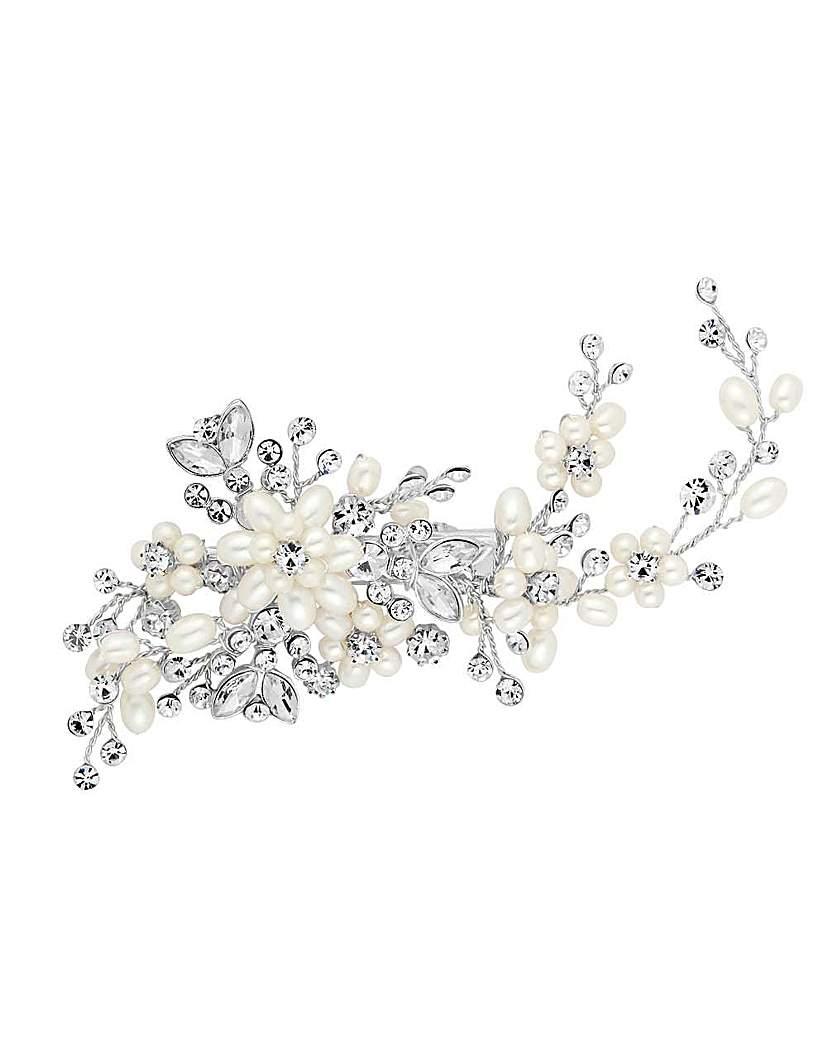 Alan Hannah pearl blossom wrap hair clip