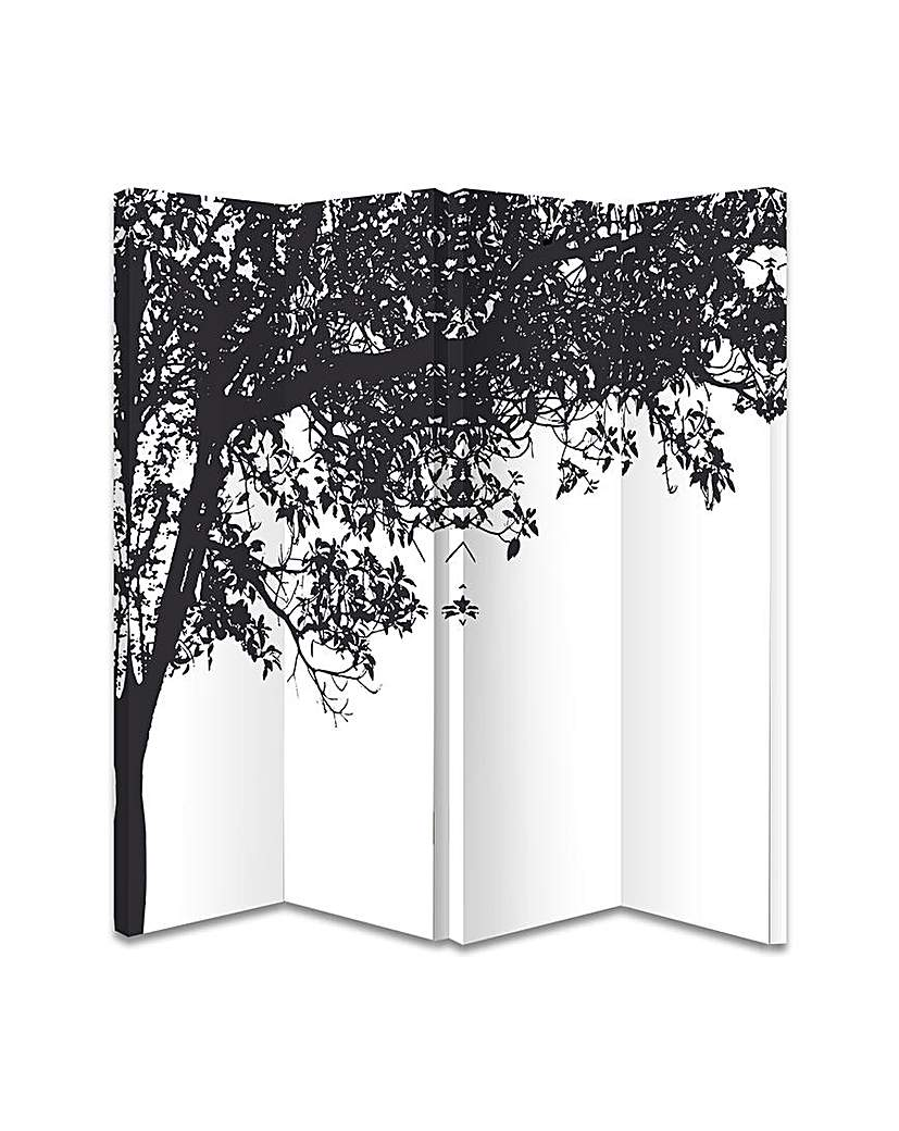 Image of Arthouse 4-panel Trees Silhouette Screen