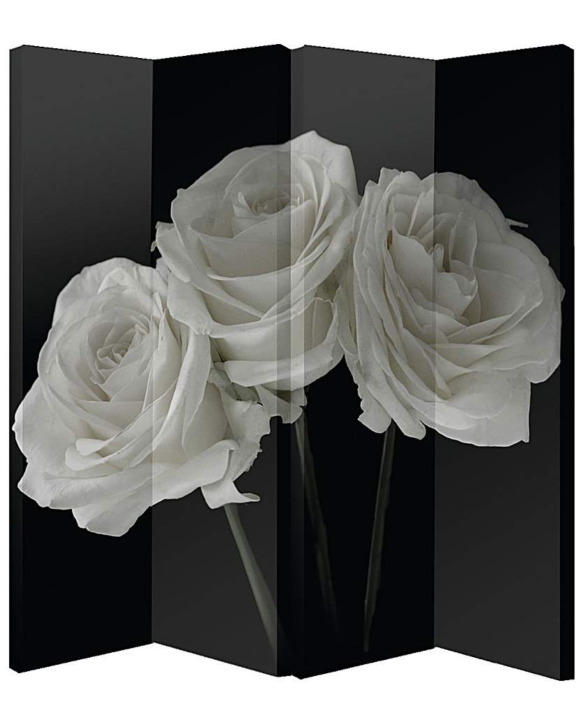 Image of Arthouse 4-panel Roses Screen