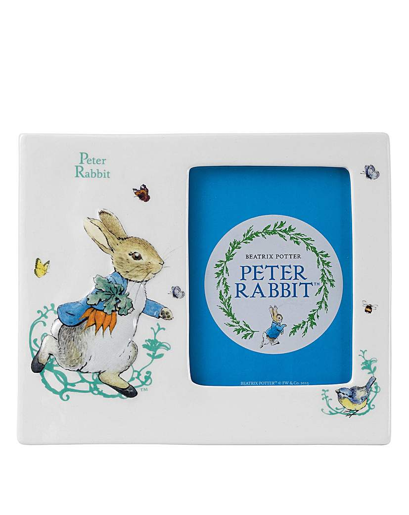 Image of Beatrix Potter Peter Rabbit Photo Frame