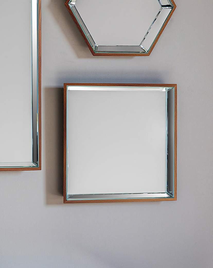 Image of Gallery Pacific Hexagon Mirror