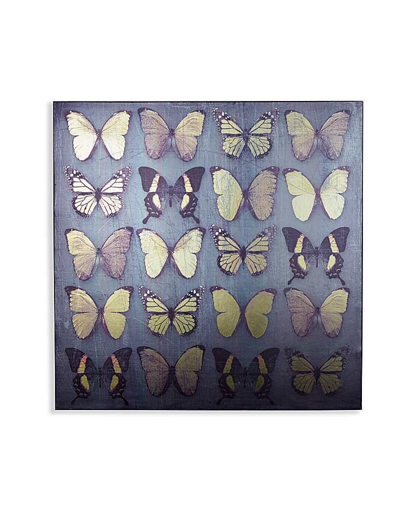 Image of Arthouse Black Butterflies Wallart