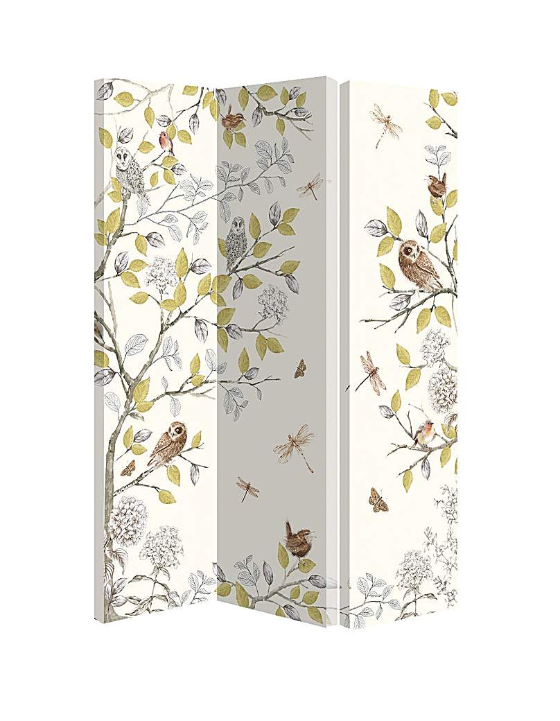 Arthouse Night Owl Room Divider