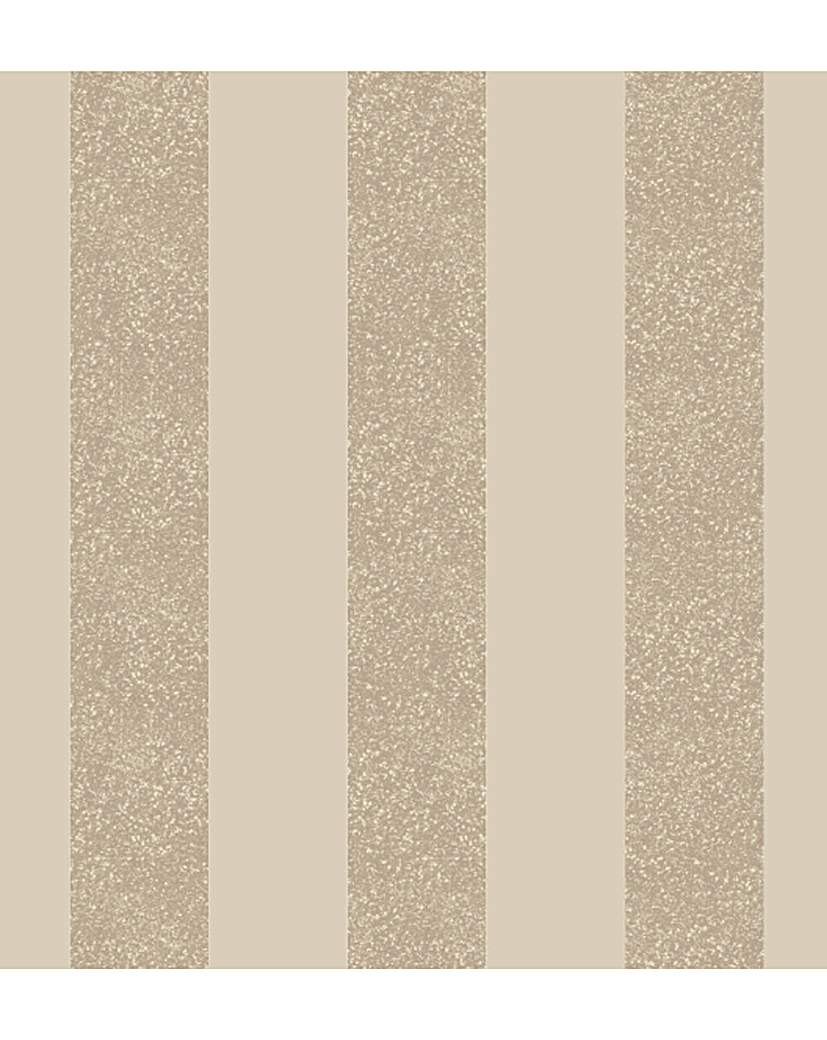 Arthouse Glitterati Stripe Wallpaper