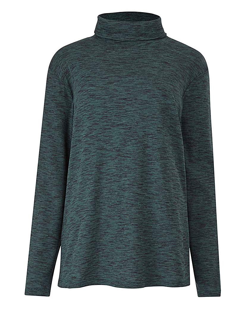 Deep Green Rollneck