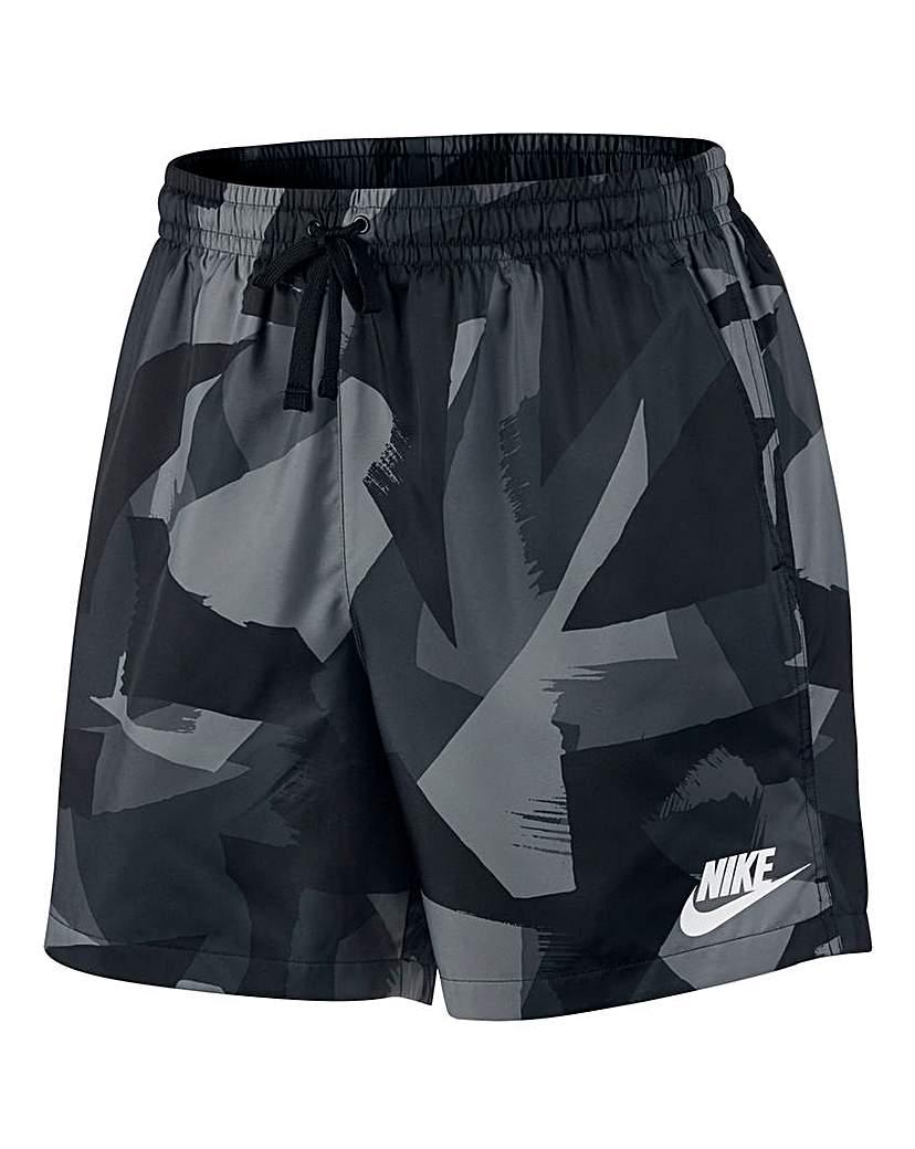 Nike Flow Print Woven Shorts.