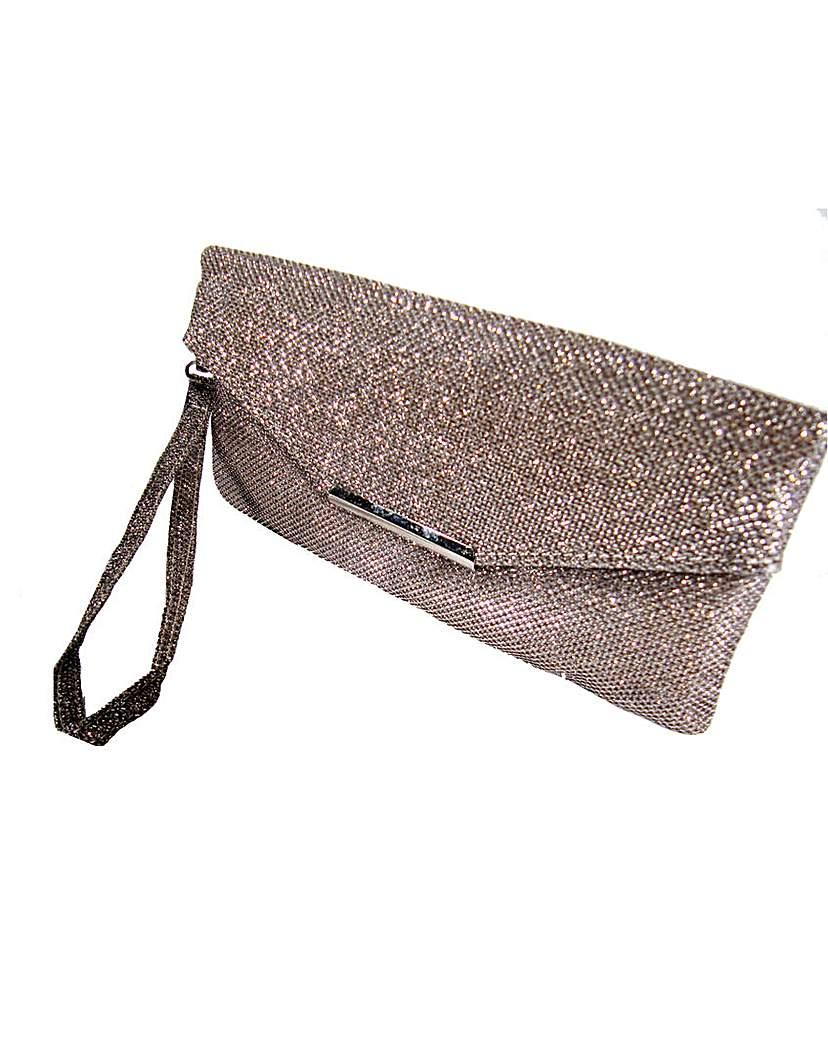 Gold Colour Clutch Bag