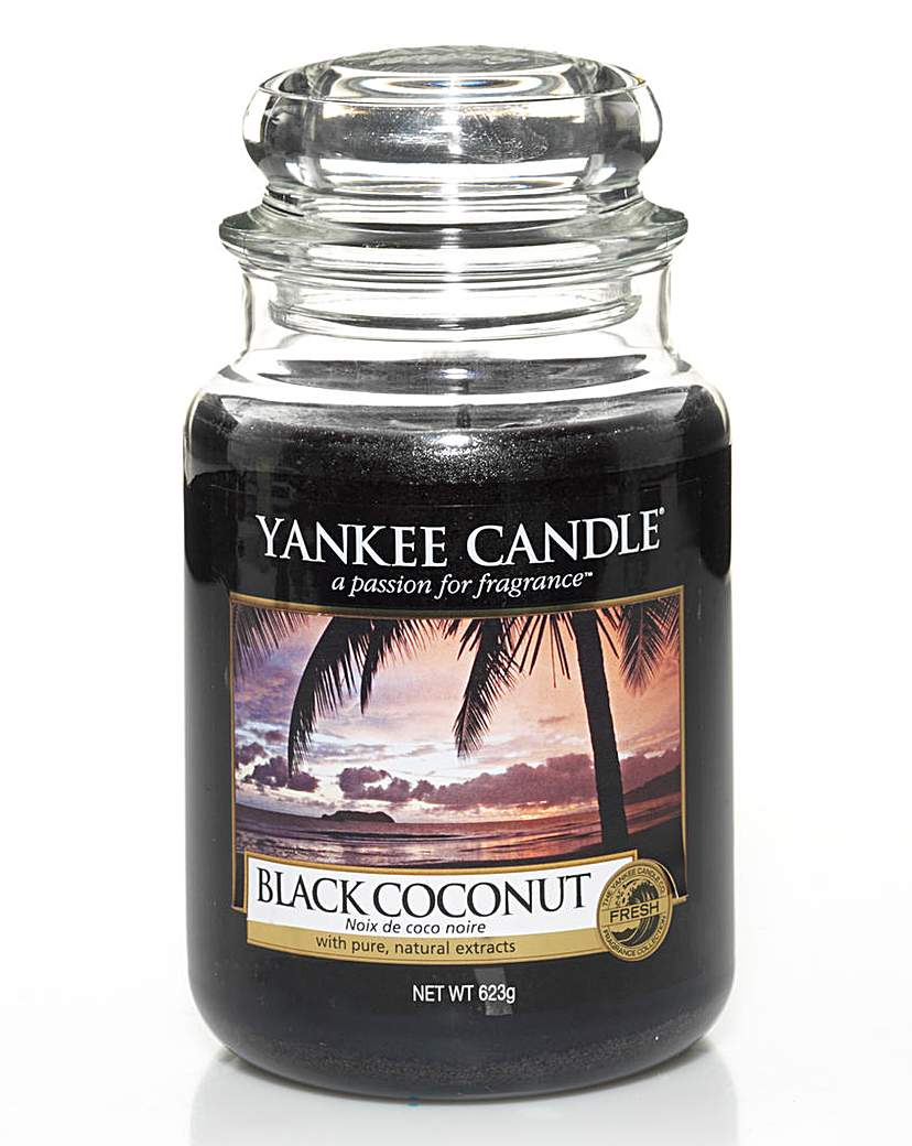 Image of Yankee Candle Black Coconut Large Jar