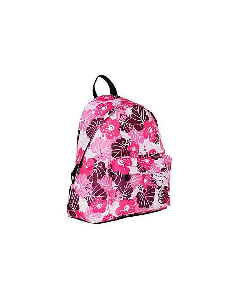Trespass Pink Palm Backpack.