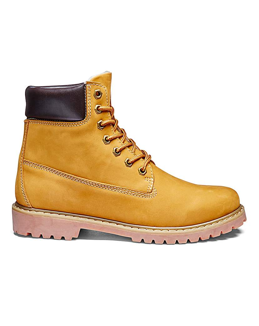 Trustyle Leather Lace Up Boots.