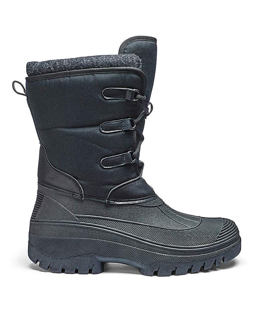 Trustyle Lace Up Snow Boot