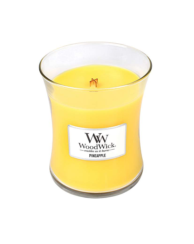 Woodwick - Pineapple  Med
