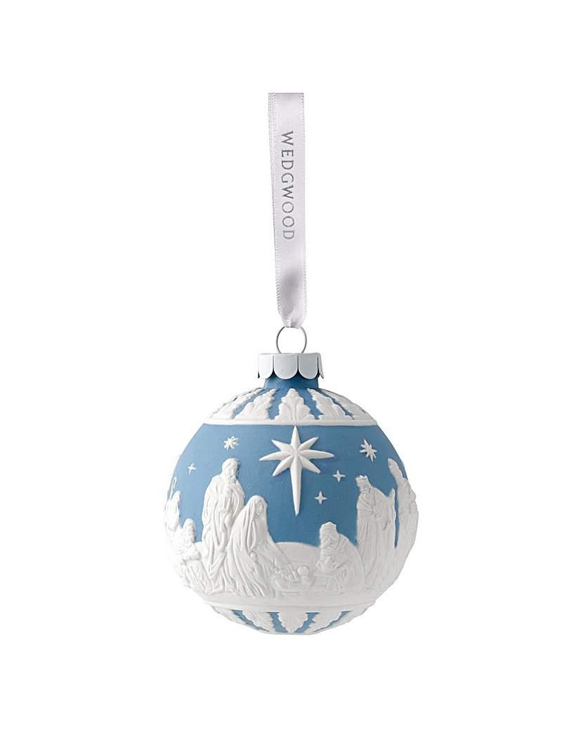 Wedgwood Christmas Nativity Bauble