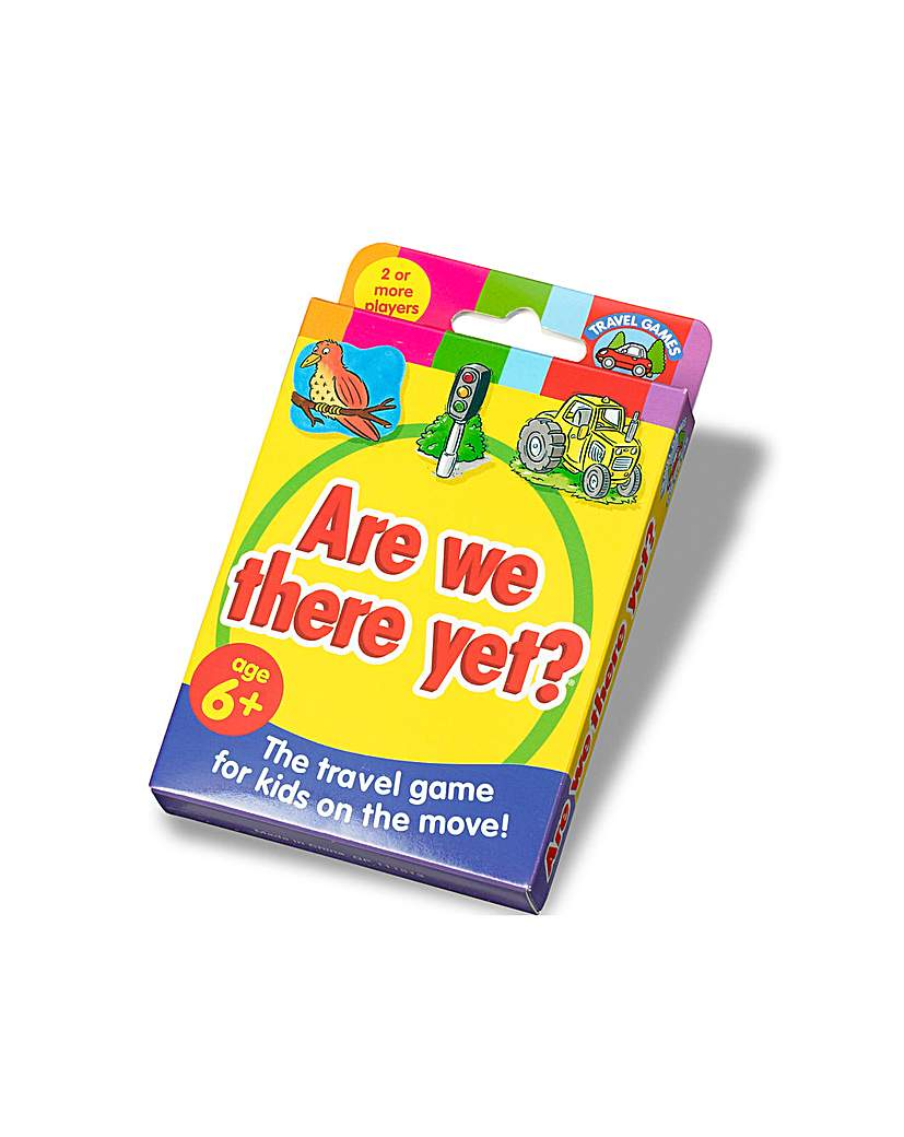Image of Are We There Yet? Card Game