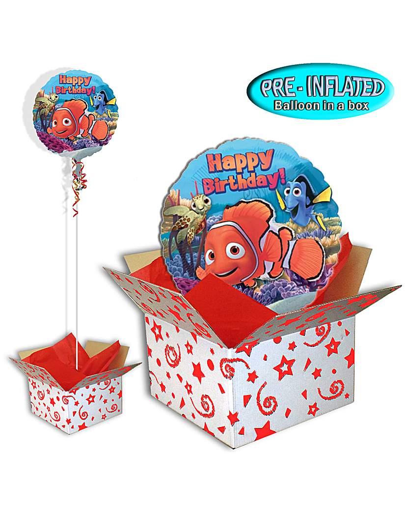 "Finding Nemo 18"" Foil Balloon In A Box"