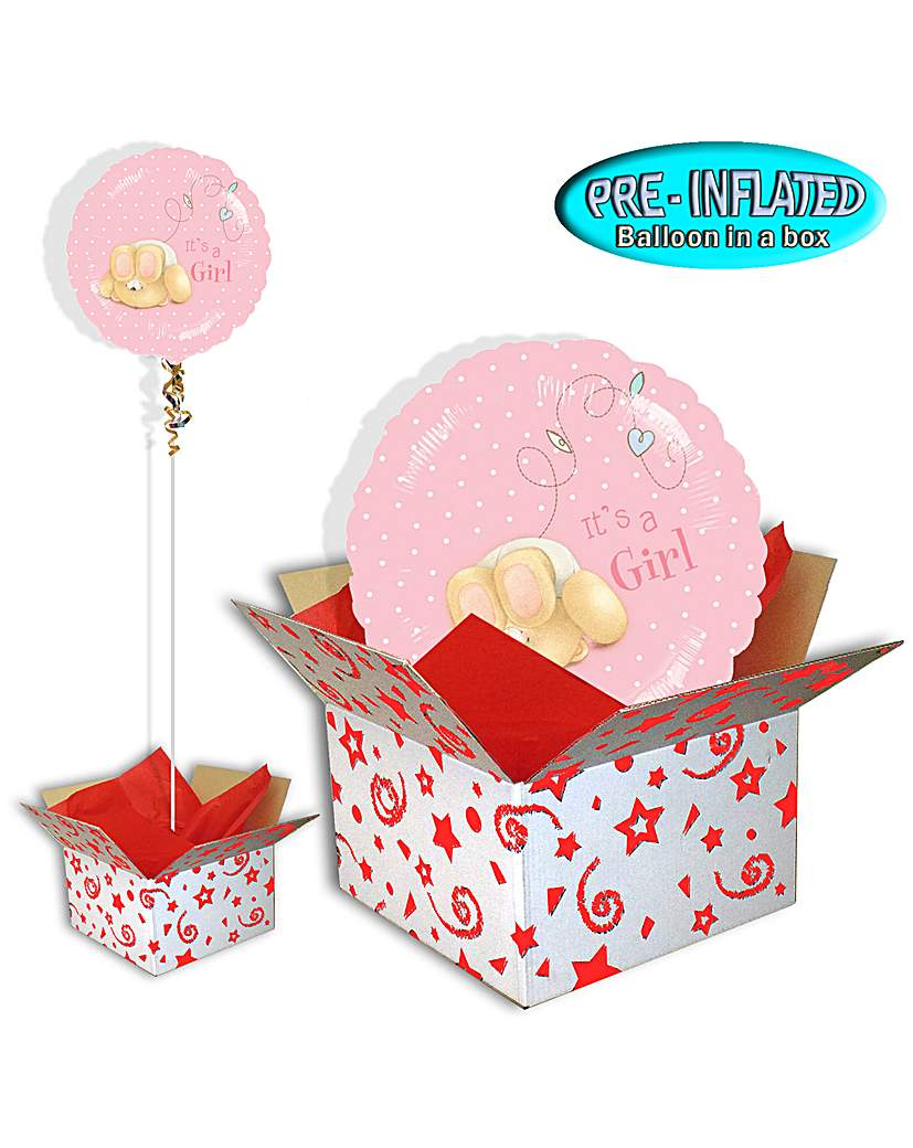 Forever Friends A Girl Balloon In A Box
