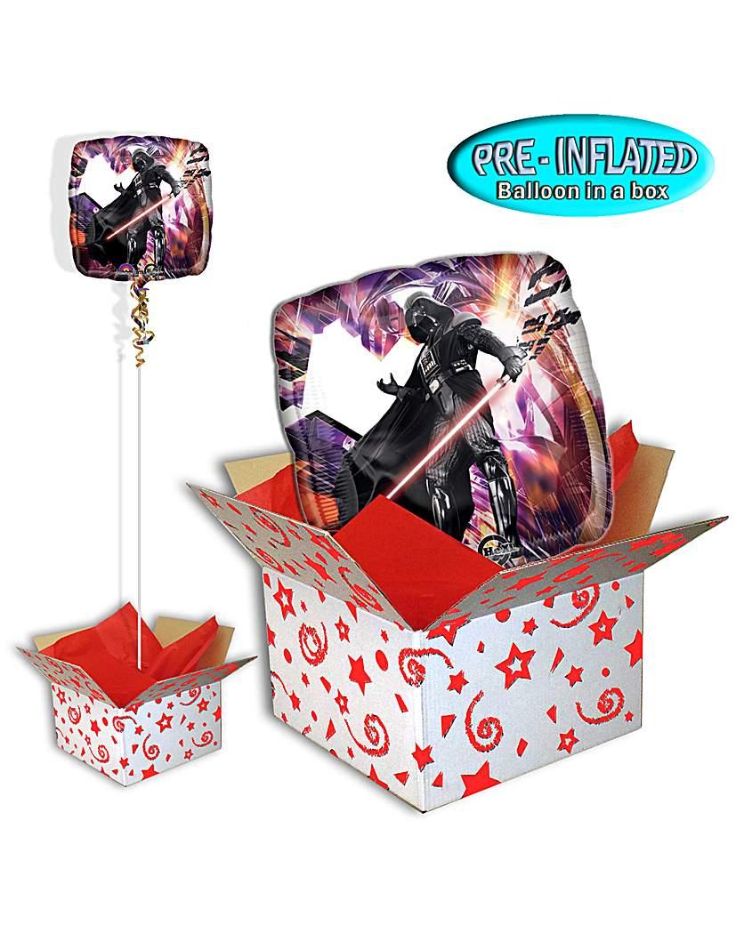 Star Wars Darth Vader Balloon In A Box