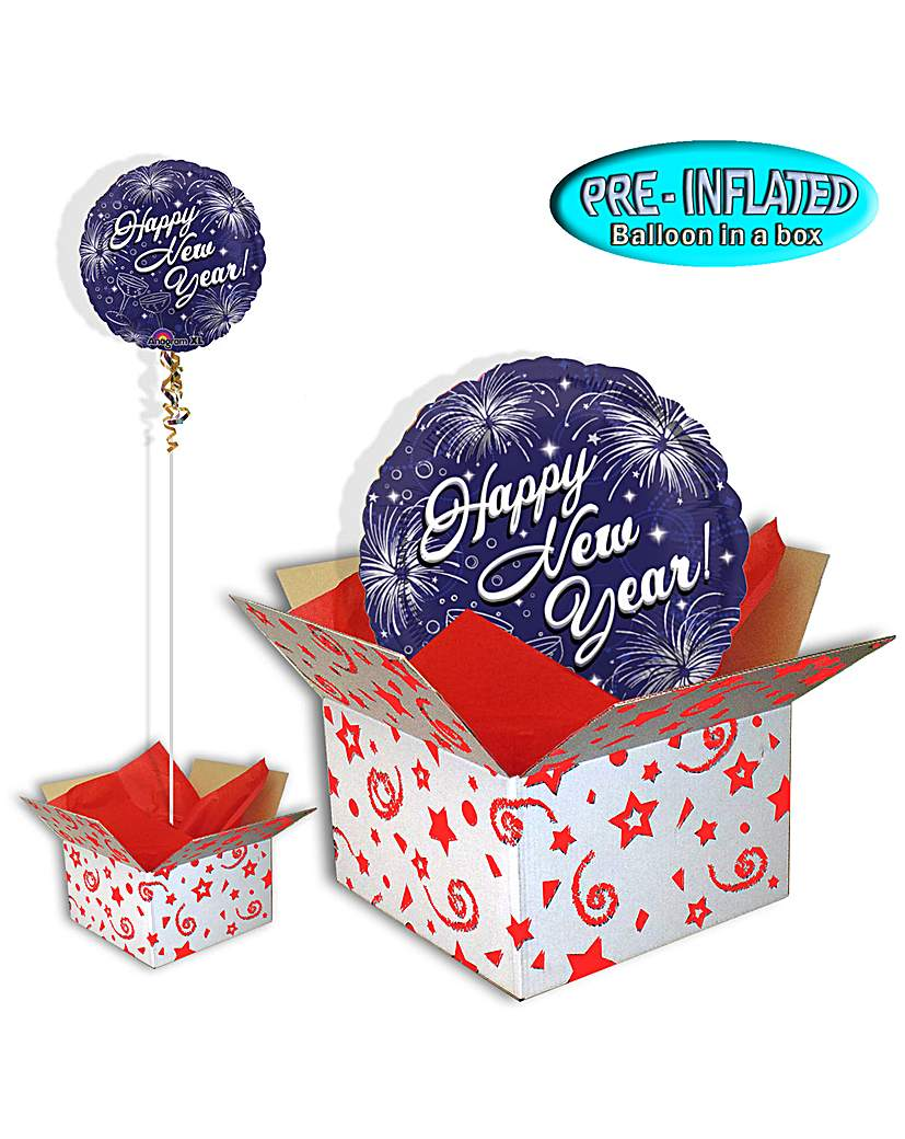 Celebrate The New Year Balloon In A Box