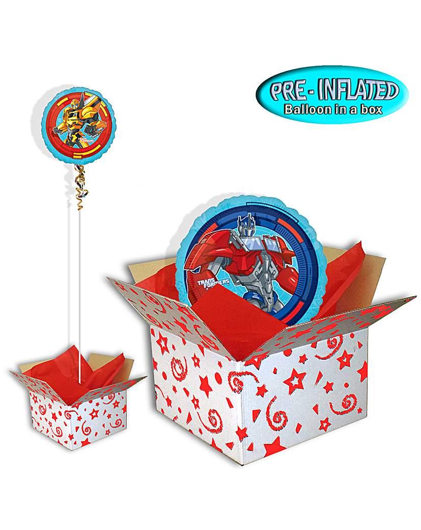 """Transformers 18"""" Foil Balloon In A Box"""