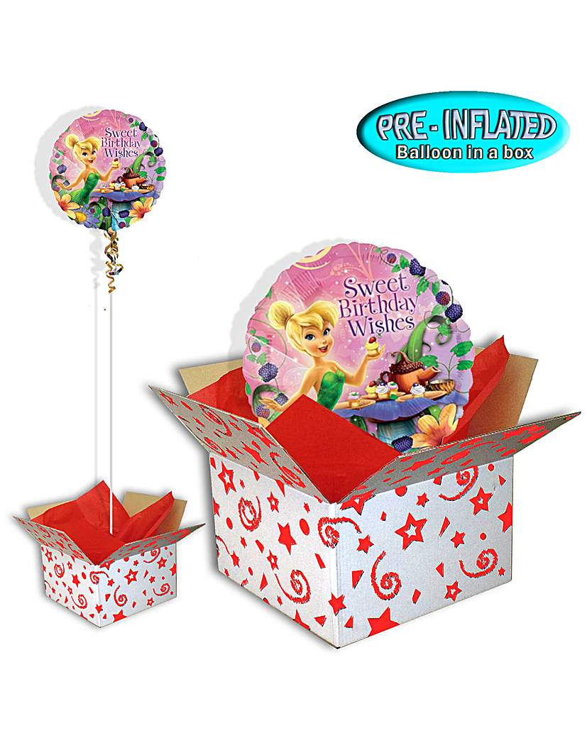Tinkerbell Birthday Balloon In A Box