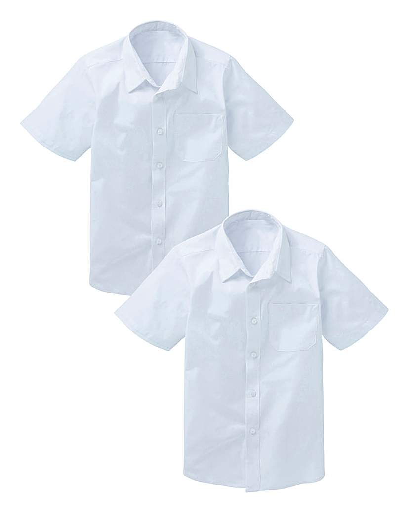 Boys Pack of Two Short Sleeve Shirts