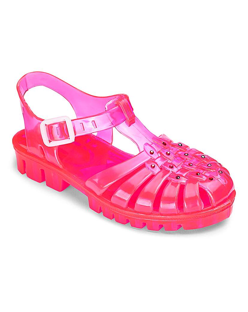TKD Girls Jelly Sandals
