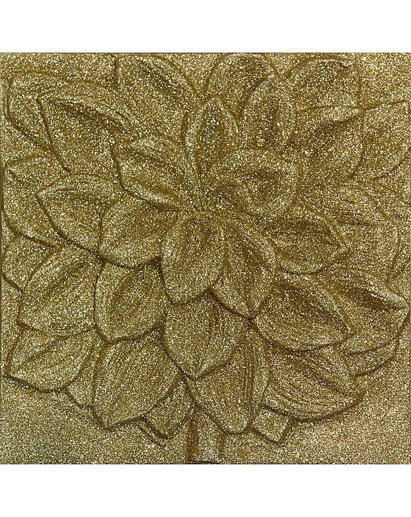 Arthouse 3D Gold Glitter Flower