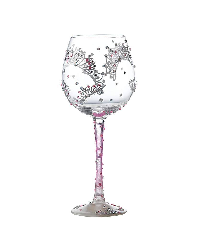 Lolita Superbling Princess Wine Glass.