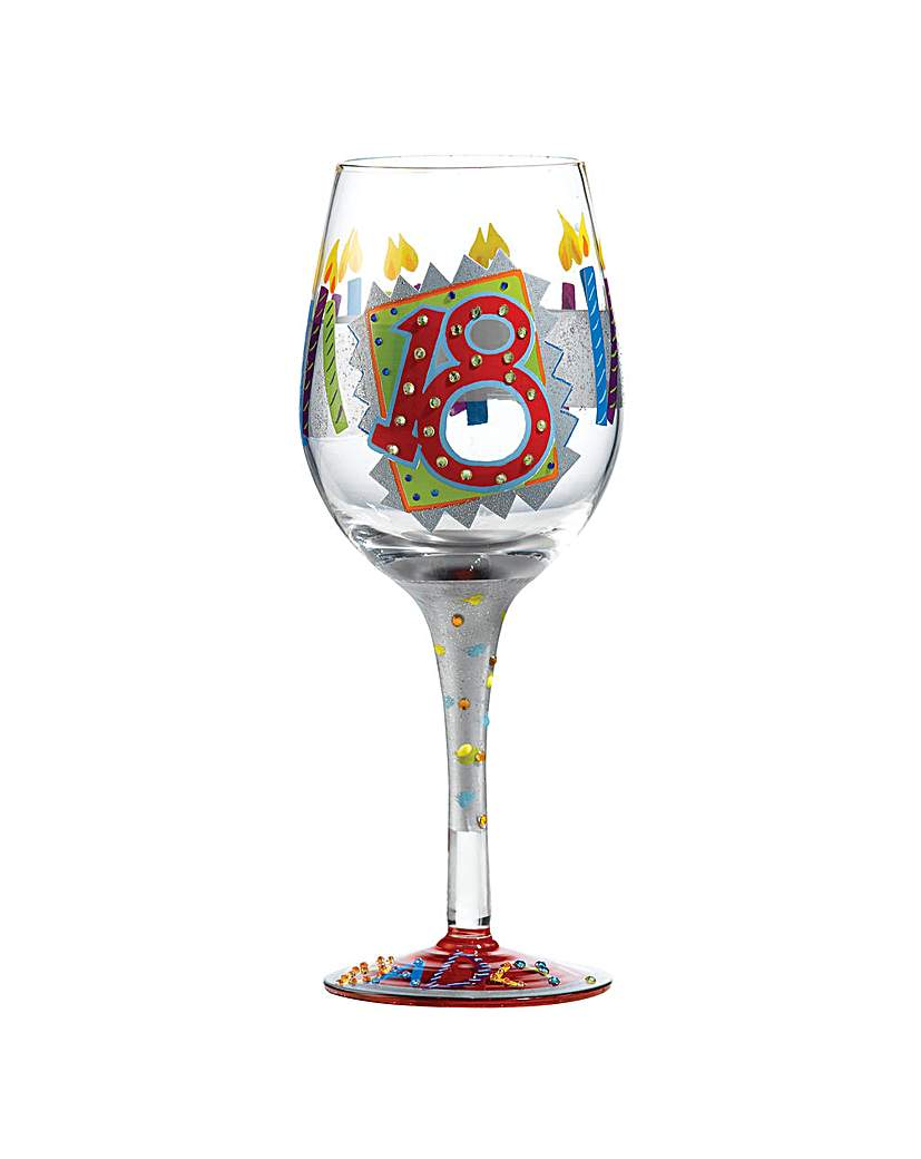Lolita 18th Birthday Standard Wine Glass.