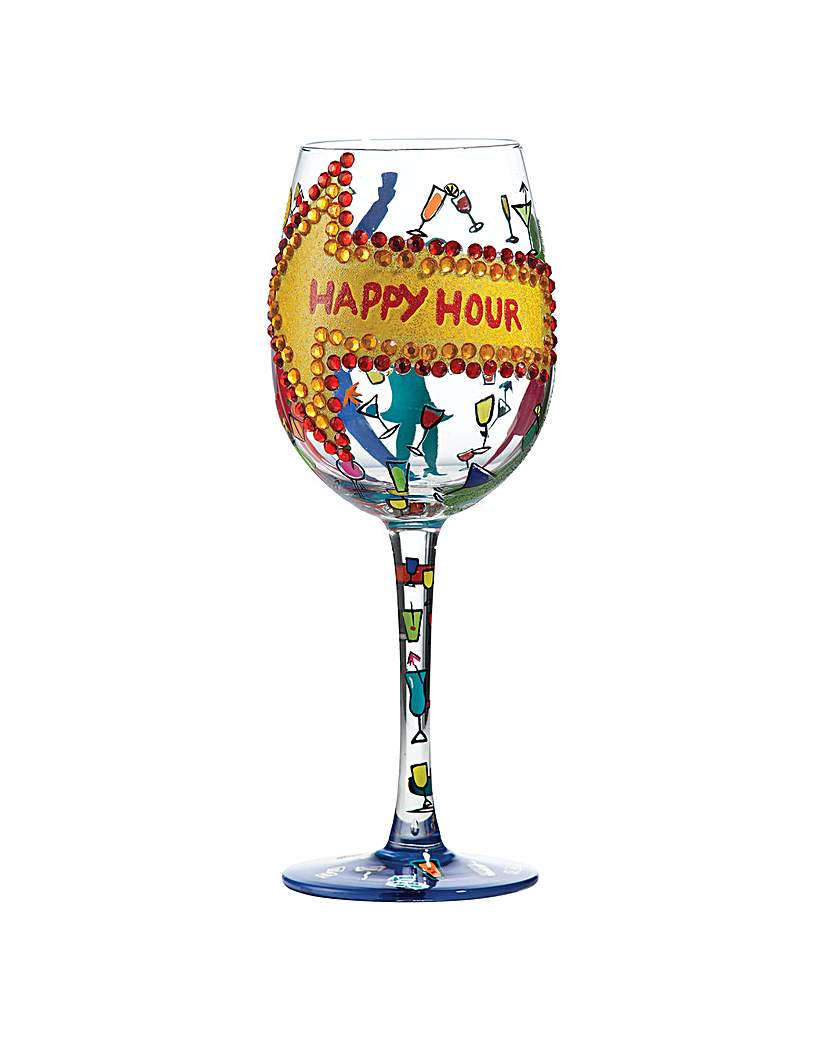 Lolita Happy Hour Standard Wine Glass
