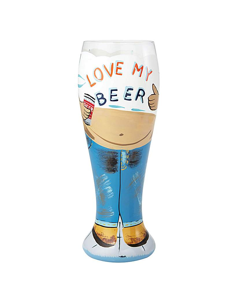 Lolita Beer Belly Beer Glass.
