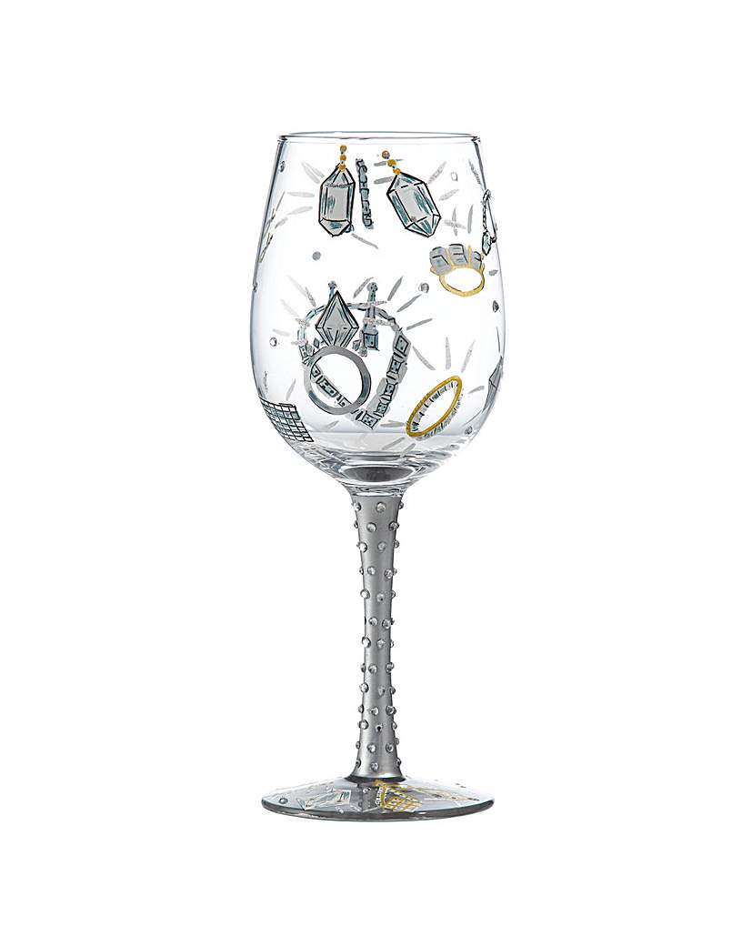 Lolita Girls Best Friend Wine Glass.
