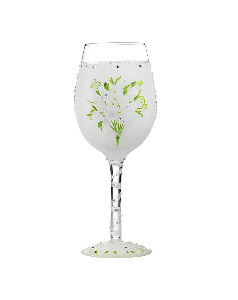 Lolita Wedding Bouquet Wine Glass