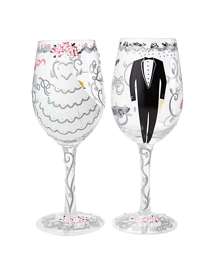 Lolita Happy Ever After Wine Glass Set.