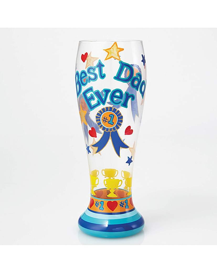 Image of Lolita Best Ever Dad Beer Glass