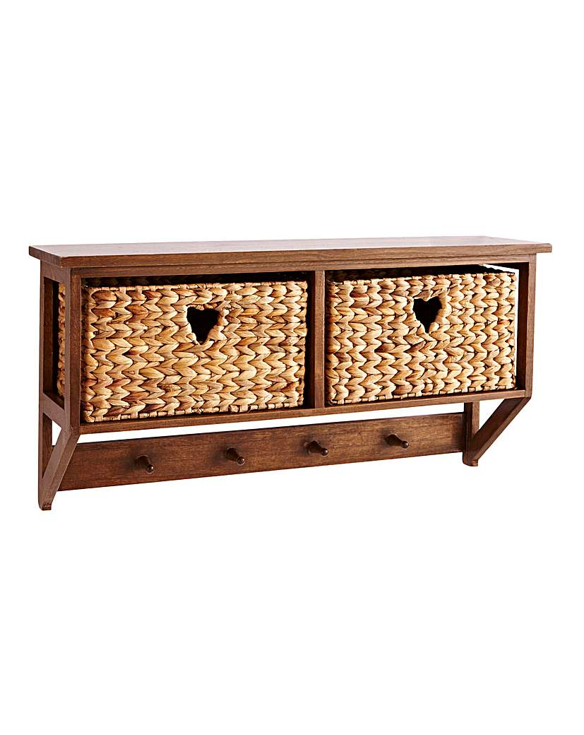 Image of Hyacinth Hearts Wall Cubby