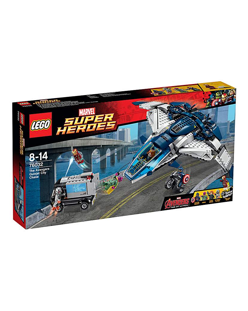 Image of LEGO The Avengers Quinjet City Chase