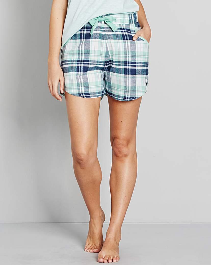 Pretty Secrets Flannel Shorts