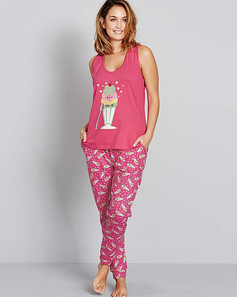 Pretty Secrets Spoon Me Pyjama Set