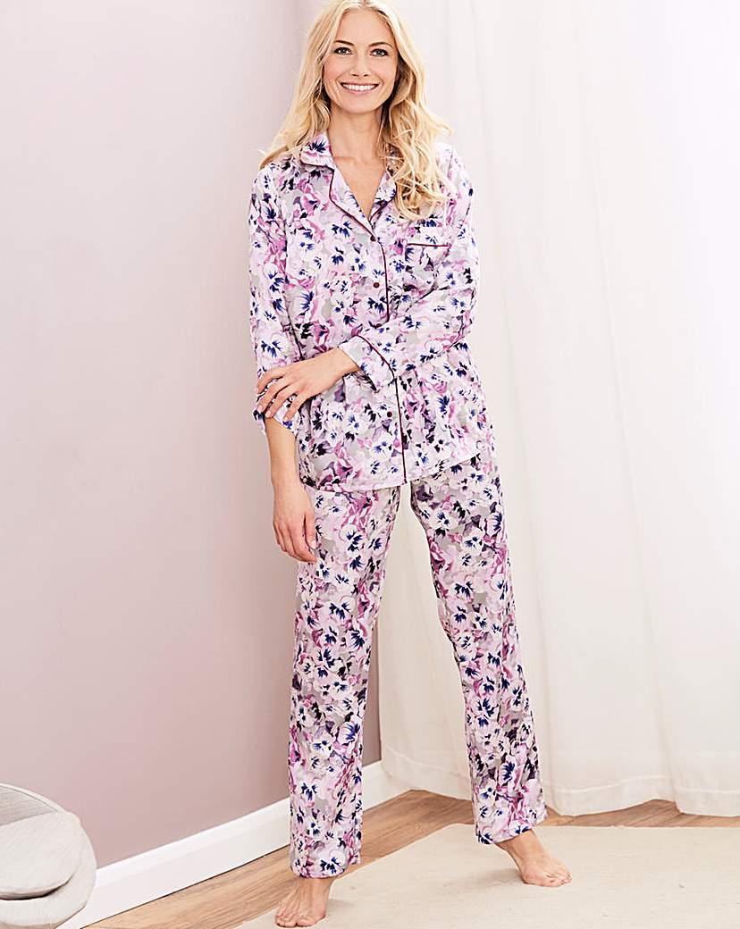 Image of Pretty Secrets Luxury Satin Pyjama Set