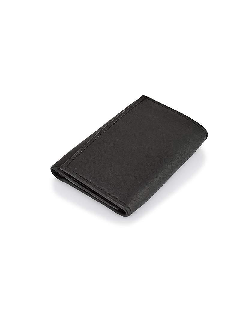 Image of Woodland Leather Hook Wallet