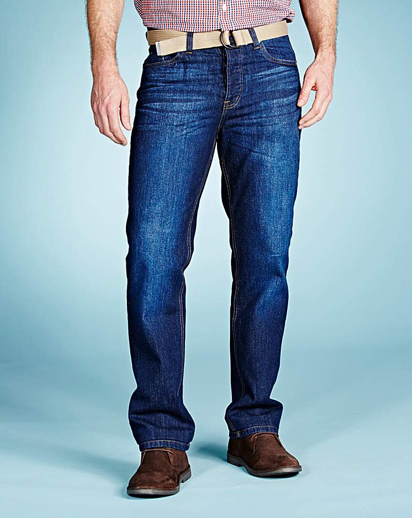 UNION BLUES Victor Straight Jeans 35 IN.